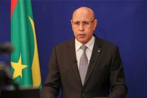 Mohamed Cheikh Ould Ghazouani, le President mauritanien